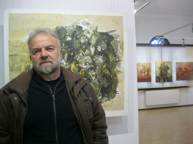 Живописни платна в своята 12 самостоятелна изложба представи казанлъшкия художник Росен Дончев