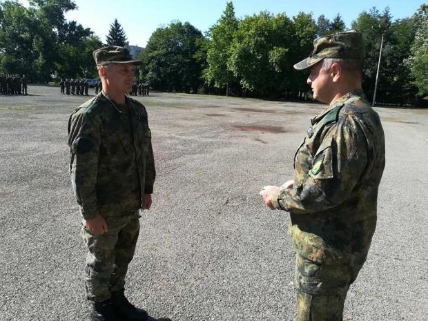 """Приемане и сдаване на длъжността """"Командир на батальон ISTAR"""""""