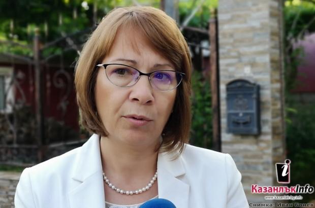 Галина Стоянова – кмет на Община Казанлък