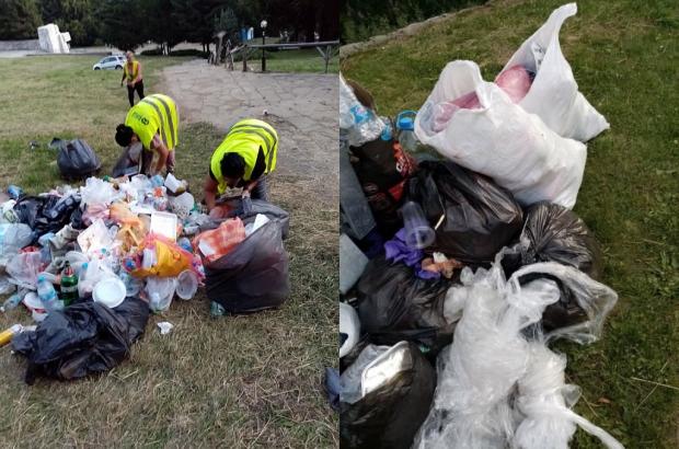 Повече от 7 тона отпадъци свалиха от Бузлуджа
