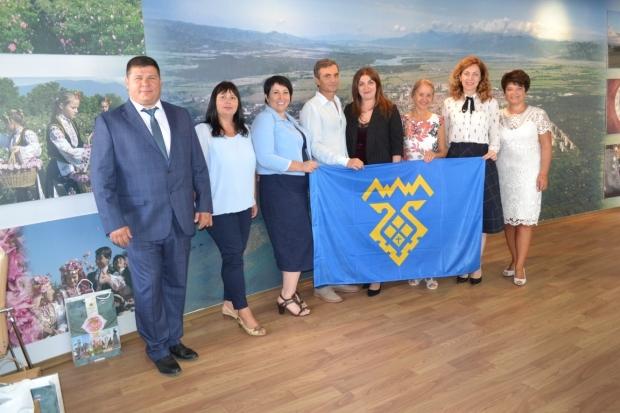 Среща в Общината с делегация от побратимения руски град Толиати