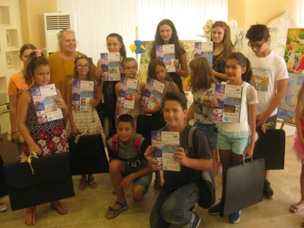 """Награждаване и изложба от IV Национален конкурс за детска рисунка """"Траките"""""""