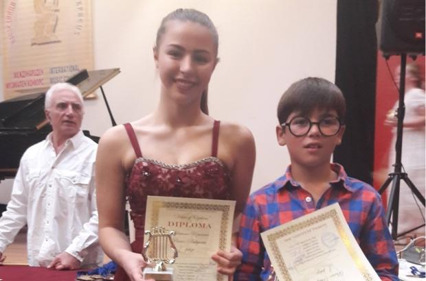 Тома Вълков и Адриана Узунова с престижни награди от Международни музикални конкурси