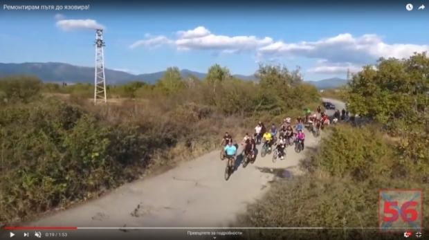 """Инж. Стоян Петров: """"Възстановявам стария път до язовира!""""/видео/"""