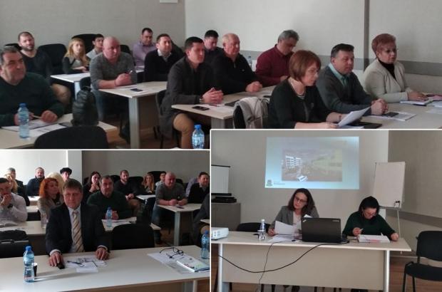 Екипът на Кмета Галина Стоянова се среща днес с кметовете на населени места