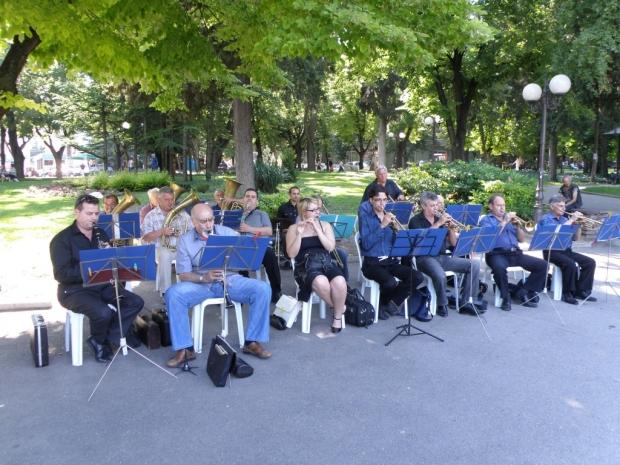 Летни музикални вечери с Общинския духов оркестър в Стара Загора