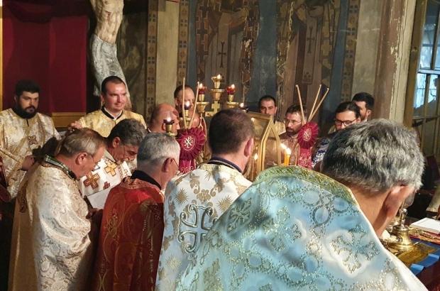 Еньовден - литургия и подстригване на иподякон