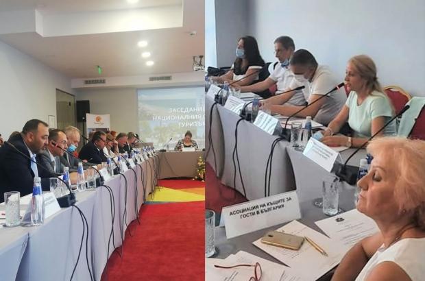 """Сребра Касева пред националния съвет по туризъм: """"Ще продължаваме да налагаме Казанлък като символ н"""