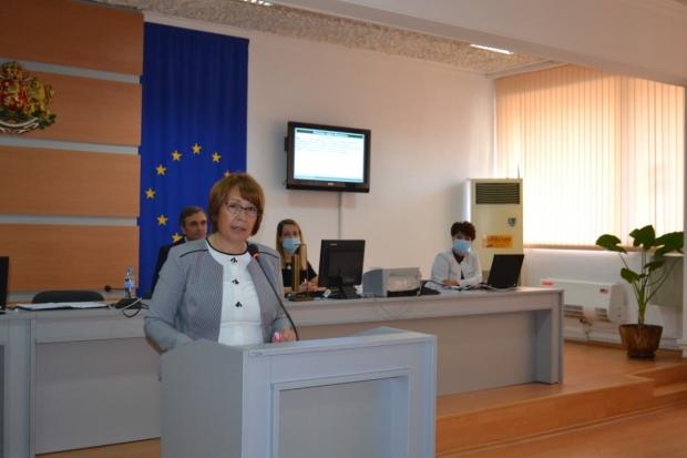 Галина Стоянова - трибуна ОБС