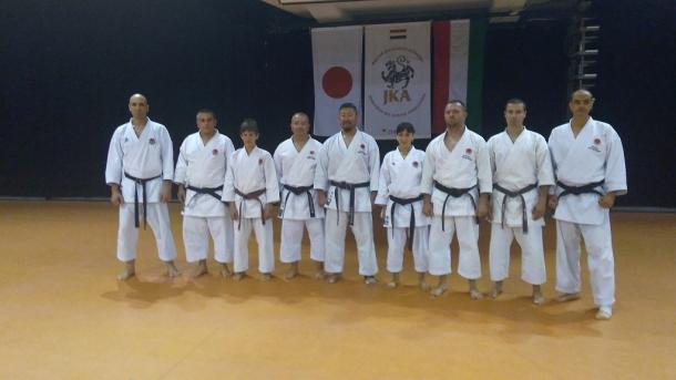 Илиян Дянков повиши инструкторската си степен към Японската карате асоциация