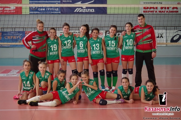 25.11.2016 - Скаут лига по волейбол момичета 2004/2005 - Казанлък волей