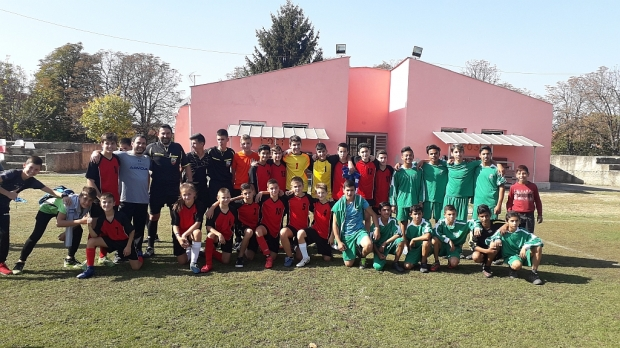 Започна турнирът по футбол от общински кръг на ученическите спортни игри 2018 от 5 до 12 клас