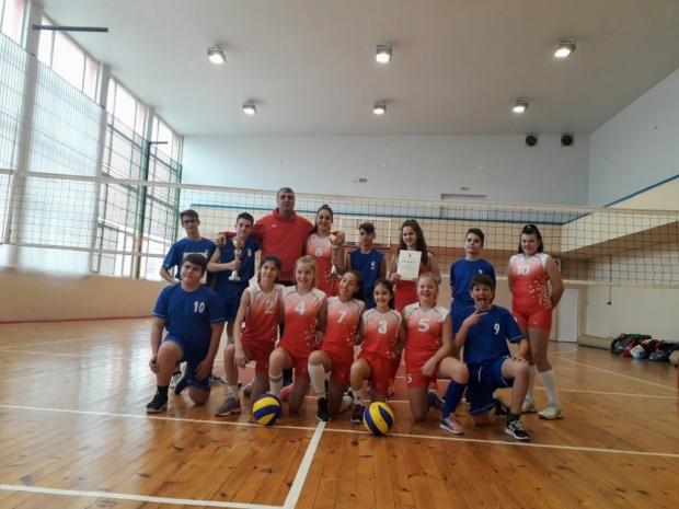 Общинското първенство по волейбол завърши за 5 -7 клас
