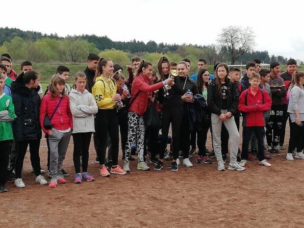 Финал на общинските лекоатлетически състезания за ученици
